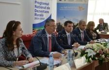 """Ministrul Agriculturii, Daniel Constantin, prezent la conferința """"Oportunități de finanțare pentru mediul privat prin POR 2014-2020 și PNDR 2014-2020"""""""