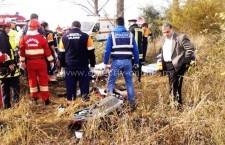 Carnagiu pe şosea, la Luica/Patru morţi în urma unui cumplit accident/Atenţie, imagini şocante!