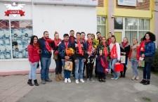 Tineretul UNPR Călărași, gest de recunoștință pentru dascălii călărășeni