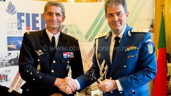 România a preluat la Paris preşedinţia Asociaţiei Forţelor de Poliţie şi Jandarmerie Europene şi Mediteraneene cu Statut Militar