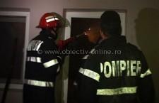 Intervenţie la incendiu de locuinţă în municipiul Olteniţa, pe strada Mărăşeşti
