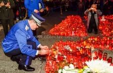 Comandantul Jandarmeriei Turce a adus un omagiu victimelor tragediei din Capitală