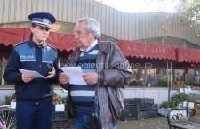 Polițiștii călărășeni, aproape de cetățeni/Sfaturi pentru prevenirea înşelăciunilor