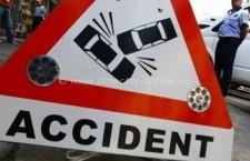 Accident grav pe DN4/Un șofer a adormit la volan