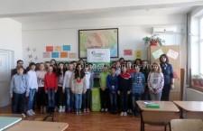 """Programul educaţional """"Guerilla Verde"""" la şcoala """"Mircea Vodă"""""""