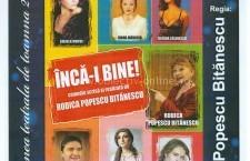 """Călărășeni, poftiți la teatru/""""ÎNCĂ-I BINE!""""–spectacol în cadrul stagiunii """"Toamna Culturală"""" 2015"""