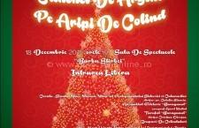"""Invitație la Concert de Crăciun """"Clinchet de argint pe aripi de colind""""/Intrarea liberă"""
