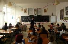 """Jandarmii călărășeni – întâlnire cu elevii Școlii Gimnaziale """"Constantin Brâncoveanu"""" din municipiul Călărași"""