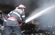 Borcea/Intervenţie la incendiu de locuinţă, pe strada Bacului