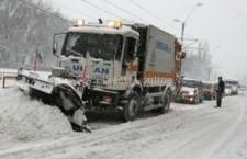 Comandament de iarnă la Primăria Călărași/64 de utilaje curăță arterele municipilui