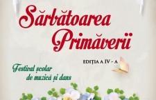 Primăria Călărași vă invită la spectacolul-eveniment SĂRBĂTOAREA PRIMĂVERII, ediția a IV-a