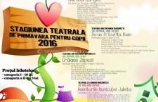 Călărași/Stagiunea teatrală de primăvară pentru copii continuă
