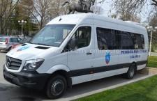 Un microbuz nou, achiziționat de Primăria Călărași, va deservi persoanele cu dizabilități din municipiu