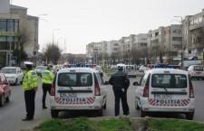 Poliția Rutieră Călărași/Mărțișoare pentru șoferițe și nu numai