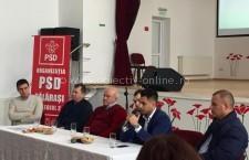 Organizațiile de tineret ale PSD din Colegiul 2 s-au întâlnit la Unirea