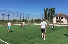 """""""Școala Altfel"""" – Competiţie de fotbal poliţişti – elevi la Perișoru"""