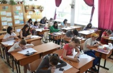 Elevii de clasa a VI-a susțin Evaluarea Națională