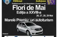 """Se dă startul Concursului Național de Interpretare a Muzicii Ușoare """"Flori de Mai"""" 2016"""
