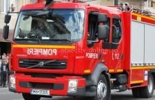 Călărași/Incendiu la un autovehicul de transport marfă