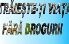 Centrul Antidrog din Călărași marchează Ziua Internaţională împotriva Consumului şi Traficului Ilicit de Droguri