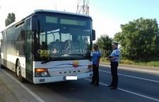 Călărași/În această dimineață polițiștii desfășoară o acţiune pentru verificarea legalităţii transportului public de persoane