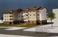Călărași/Cum va arăta noul bloc construit de Agenția Națională pentru Locuințe
