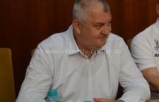 Primarul Daniel Drăgulin, alături de echipa de fotbal Dunărea Călărași
