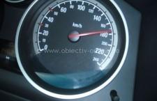 Prins de polițiști în timp ce conducea cu o viteză de 189 km/h pe tronsonul Călărași – Drajna
