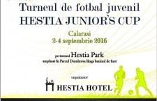 """Din 1 septembrie începe """"Hestia Junior's Cup"""" – Turneul campionilor de mâine"""