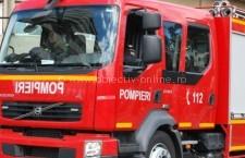 Incendiu la o gospodărie din localitatea Borcea
