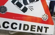 Un autoturism s-a răsturntat pe strada Locomotivei/Victimele au fost transportate la Spital
