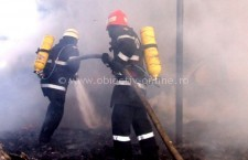 Pompierii călărășeni au intervenit la două incendii de locuințe la sfârșitul săptămânii trecute