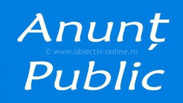 Valea Argovei/ANUNȚ PREALABIL PRIVIND AFIȘAREA PUBLICĂ A DOCUMENTELOR TEHNICE ALE CADASTRULUI