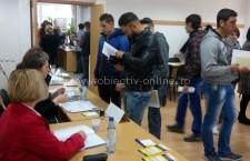 76 persoane selectate pentru a ocupa un loc de muncă și alte 17 persoane încadrate pe loc, la Bursa Generală organizată de AJOFM Călărași
