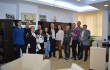 Ziua porţilor deschise la Primăria Călăraşi – participanţi, elevi ai Colegiului Economic Călăraşi
