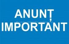 ANUNȚ/În atenţia chiriaşilor din locuințele ANL
