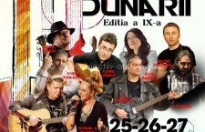 """Pe 25 noiembrie începe Festivalul Național de Muzică Folk """"CHITARA DUNĂRII"""""""