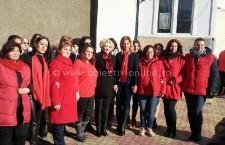 Viorica Dăncilă, președinta OFSD, este alături de candidații PSD Călărași la Oltenița