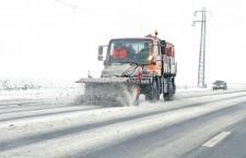 Călărași/S-au redeschis mai multe porțiuni din drumurile naționale și județene