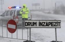 TOATE drumurile din județul Călărași sunt ÎNCHISE!