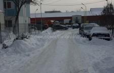 Primăria Călărași, apel către șoferi să parcheze astfel încât utilajele de deszăpezire să poată interveni