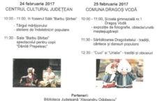 """24-25 februarie a.c./""""Tradiții și basme românești…"""", eveniment al Centrului Cultural în Călărași și Dragoș Vodă"""