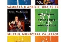 Dinu Olărașu, lansare de carte și CD la Muzeul Municipal Călărași