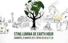 Pe 25 martie, Călărașiul marchează Ora Pământului