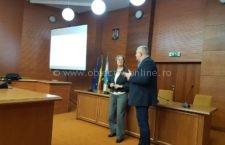 Expert german în dezvoltare durabilă, prezent în municipiul Călărași