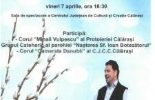 """CJCC Călărași/""""Vin Floriile cu soare!"""" – 7-11 aprilie 2017"""