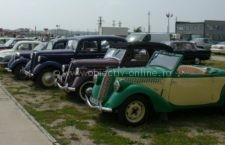 Expoziție de mașini de epocă, astăzi, la Călărași