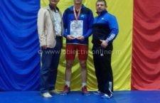Sportivul CSM Călăraşi, Mihai Palaghia, locul II la Turneul Internaţional de Lupte de la Bucureşti