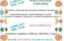 Centrul Județean de Cultură Călărași așteaptă copiii la Foișor (Parcul Central) pentru petrecerea de 1 iunie