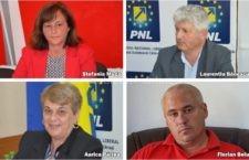 Ştefania Moga (PSD) – Laurenţiu Bănescu (PNL) şi Aurica Pârlea (PNL) – Florian Belu (PSD), candidaţii pentru primăria Lehliu Gară, respectiv Unirea